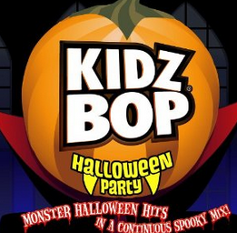 kidz bop halloween party includes tracks