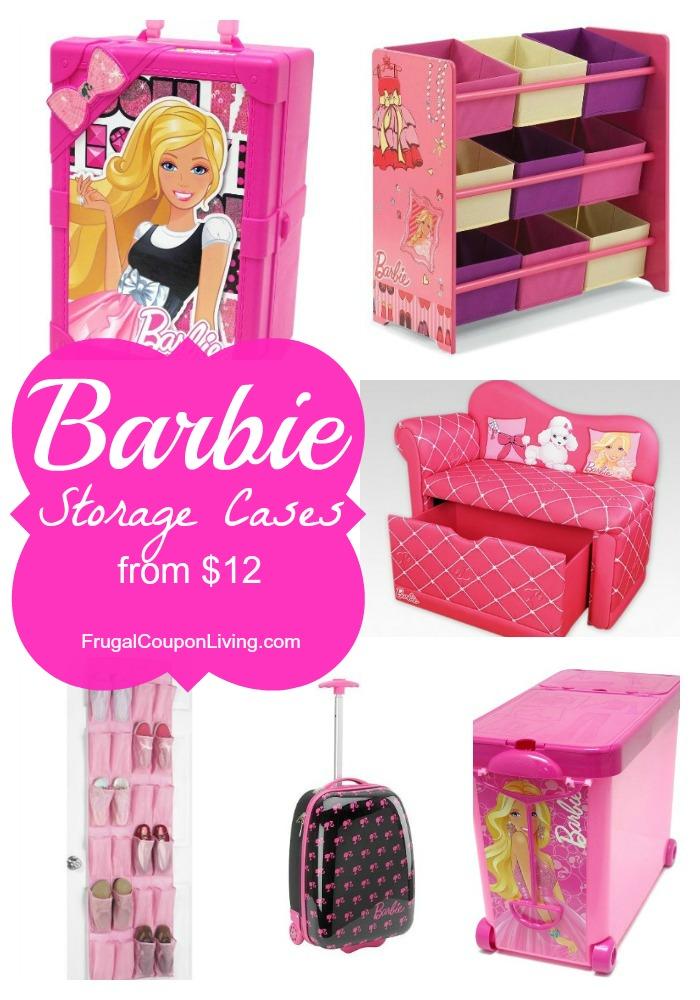 Barbie Storage Cases Frugal Coupon Living