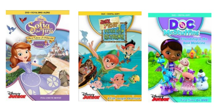 Disney Junior DVD Deals | Discounted up to 45% With Prices Starting at