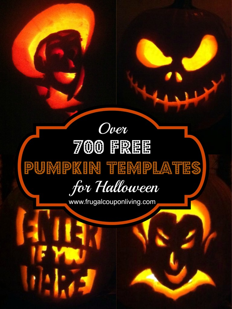FREE Pumpkin Templates - Over 700 Characters and Designs for Halloween