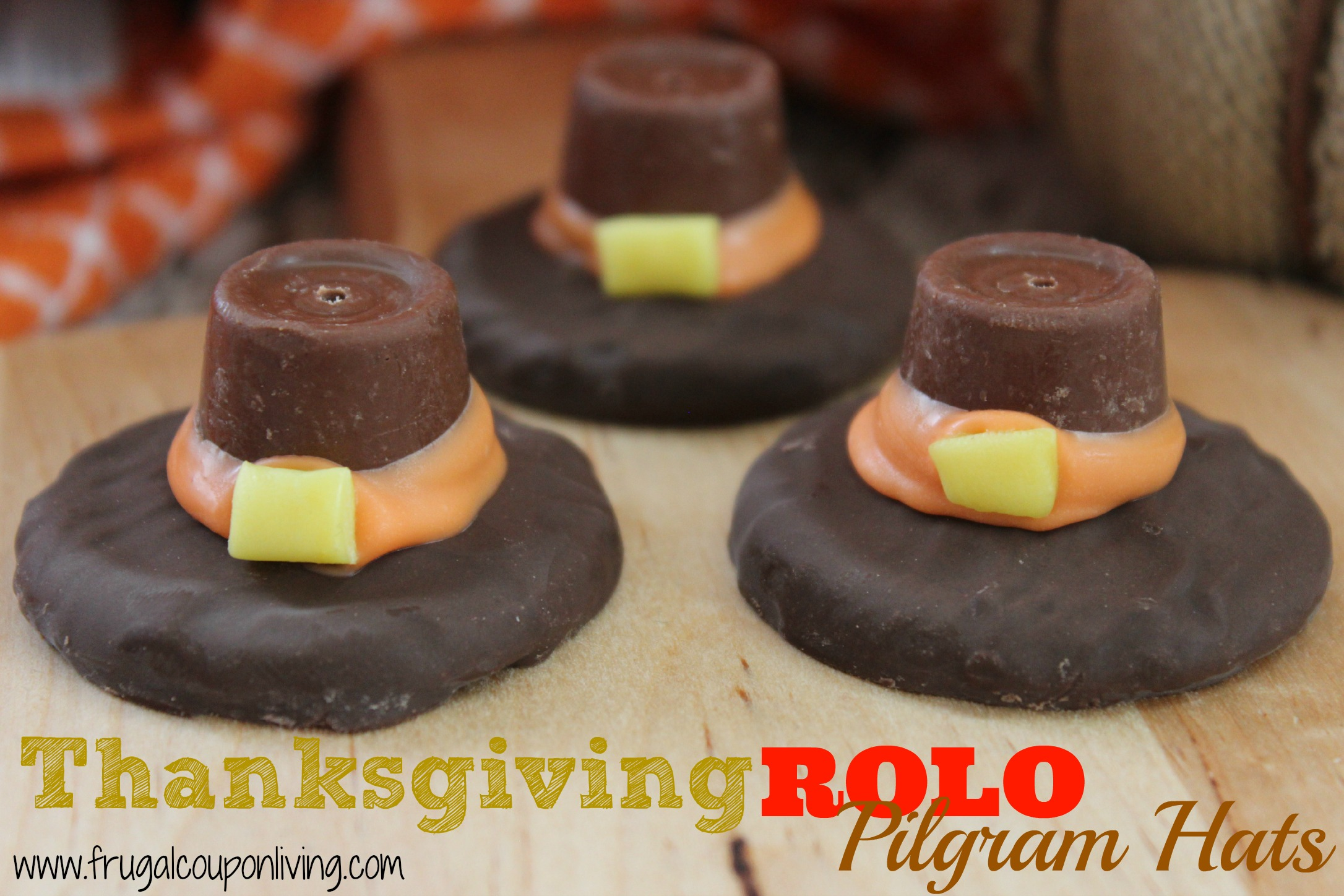 leftover halloween candy thanksgiving treats - seen on rachael ray