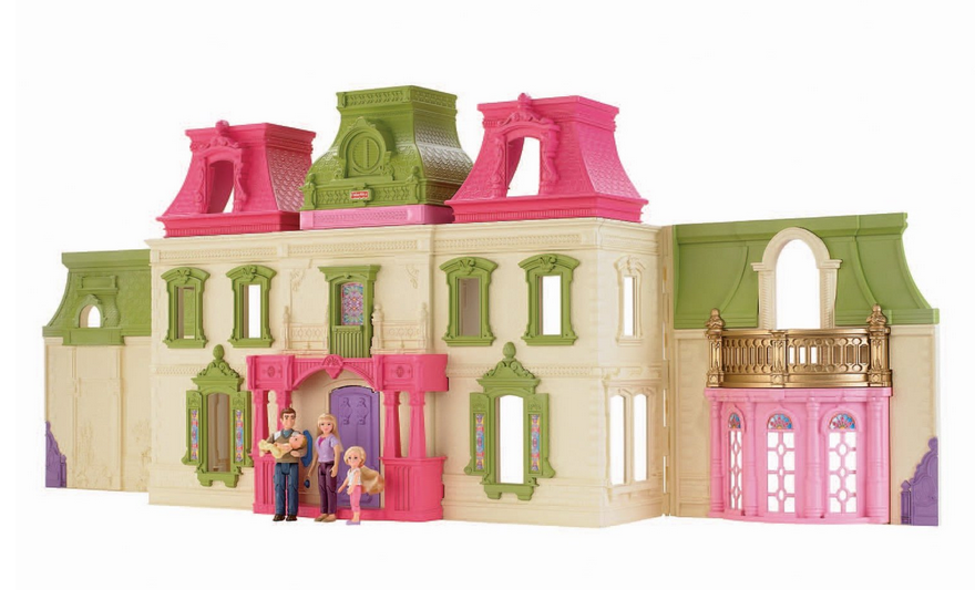 Screen Shot 2013 11 22 At 12.58.45 PM. Check Out The Fisher Price Loving  Family Dream Dollhouse ...