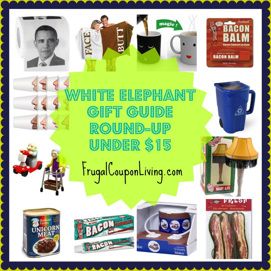 White Elephant Gift Guide Round Up Under 15