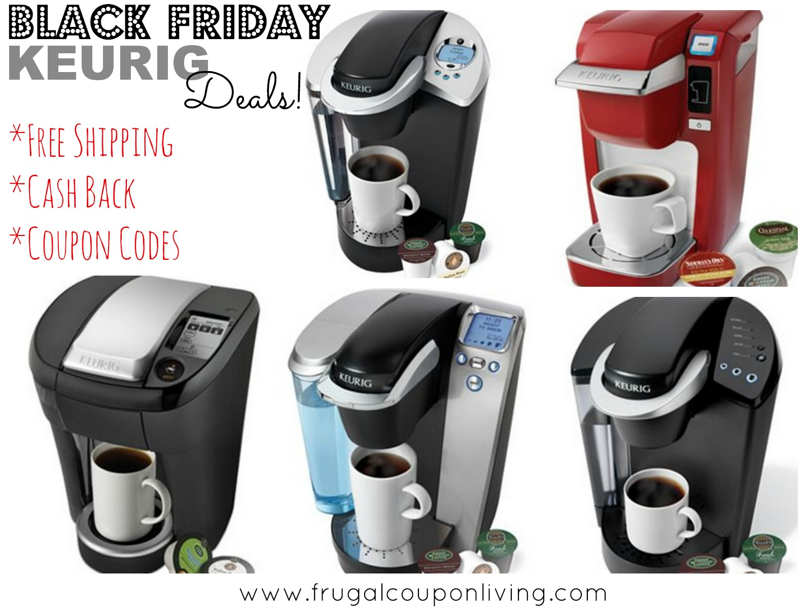 Keurig Coffee Maker Deals Cyber Monday : Keurig Black Friday Sale from USD 69.99 - Cash Back and Coupon Code