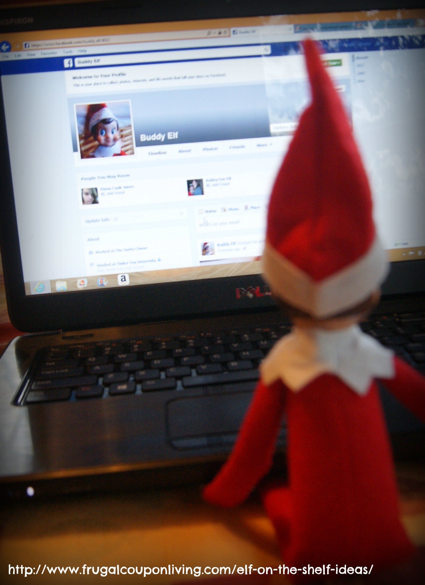 Buddy the elf on the shelf ideas on facebook frugal coupon living