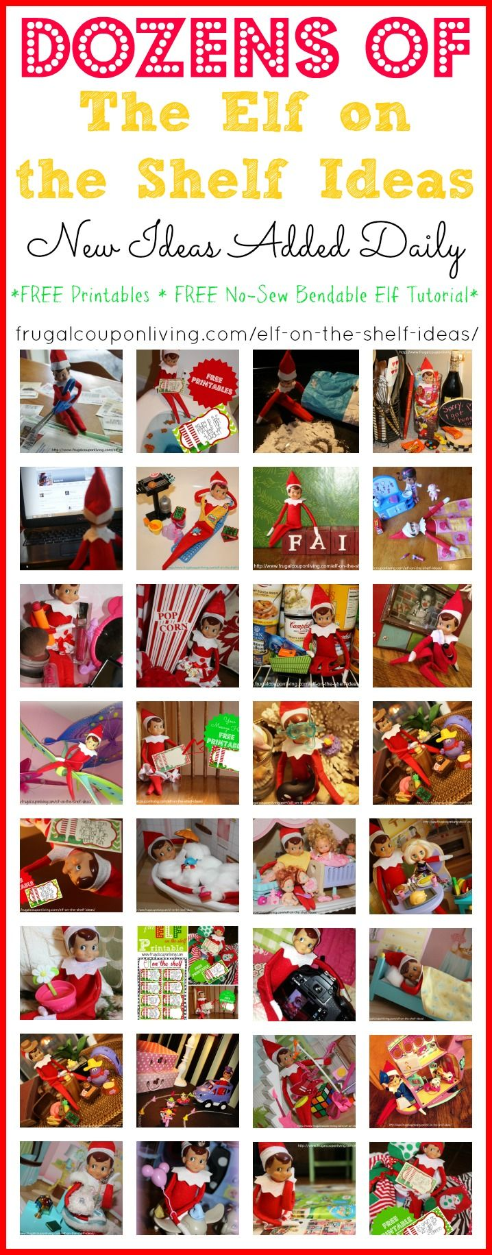 dozens-of-elf-on-the-shelf-ideas