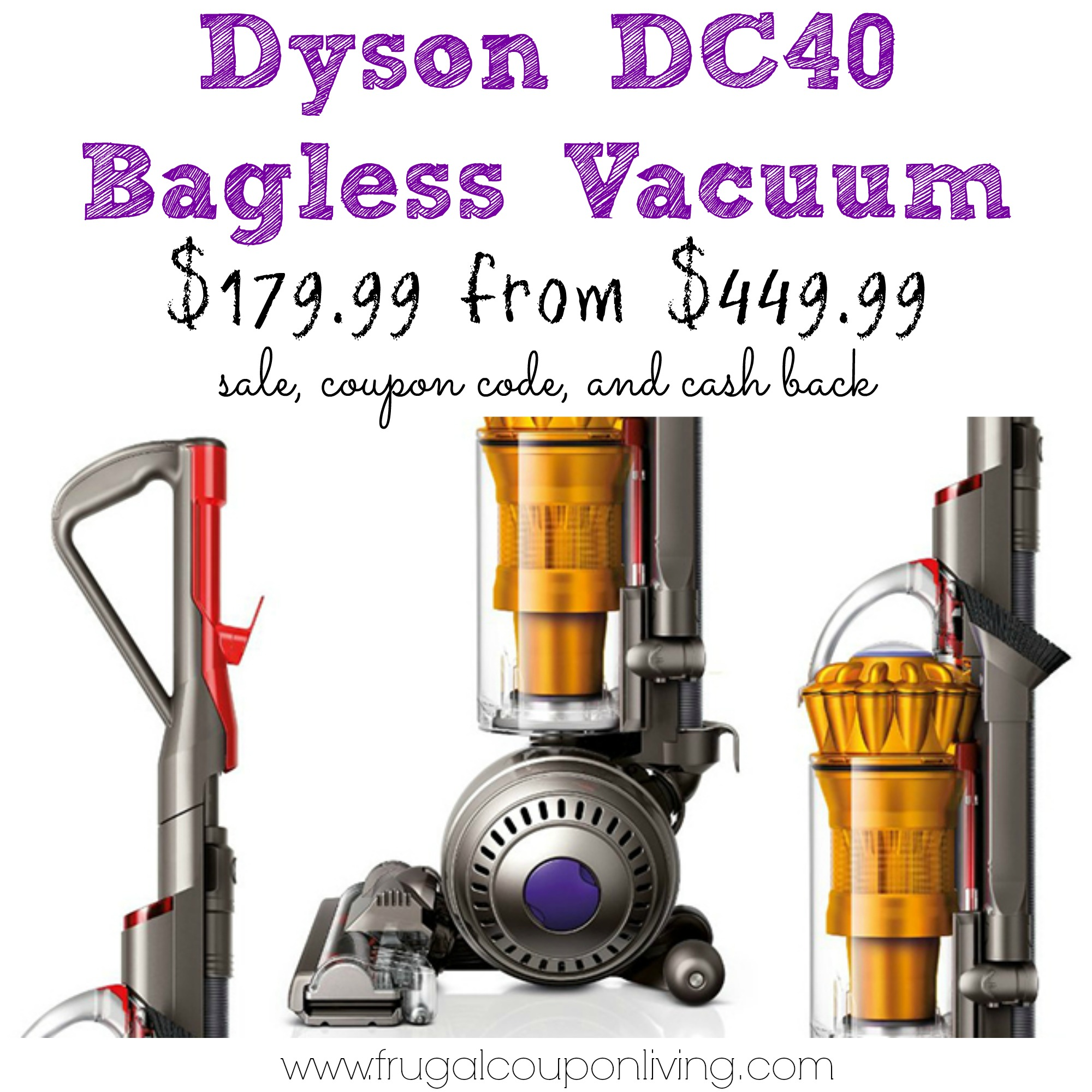 black friday dyson dc40 vacuum sale 180 from 450 hurry. Black Bedroom Furniture Sets. Home Design Ideas