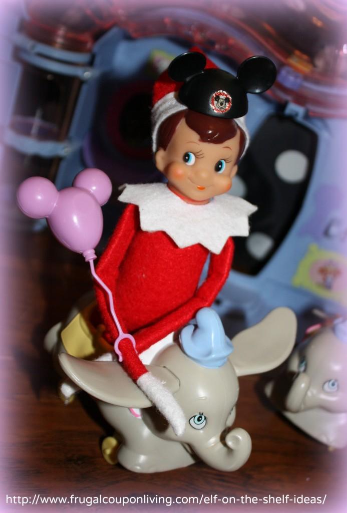 Elf On The Shelf Ideas Elf Visits Disney