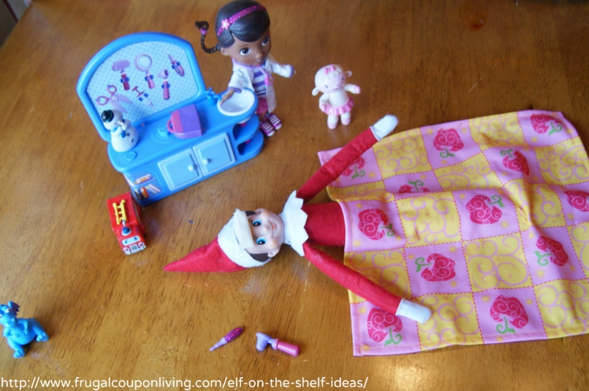 Elf on The Shelf Ideas - The Doc is In Fixing Elf