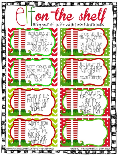 Follow Frugal Coupon Living Elf on the Shelf Ideas