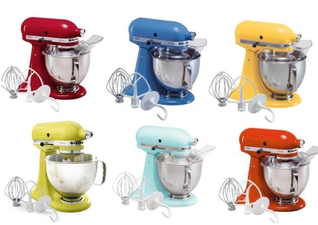 Mixers Kitchenaid