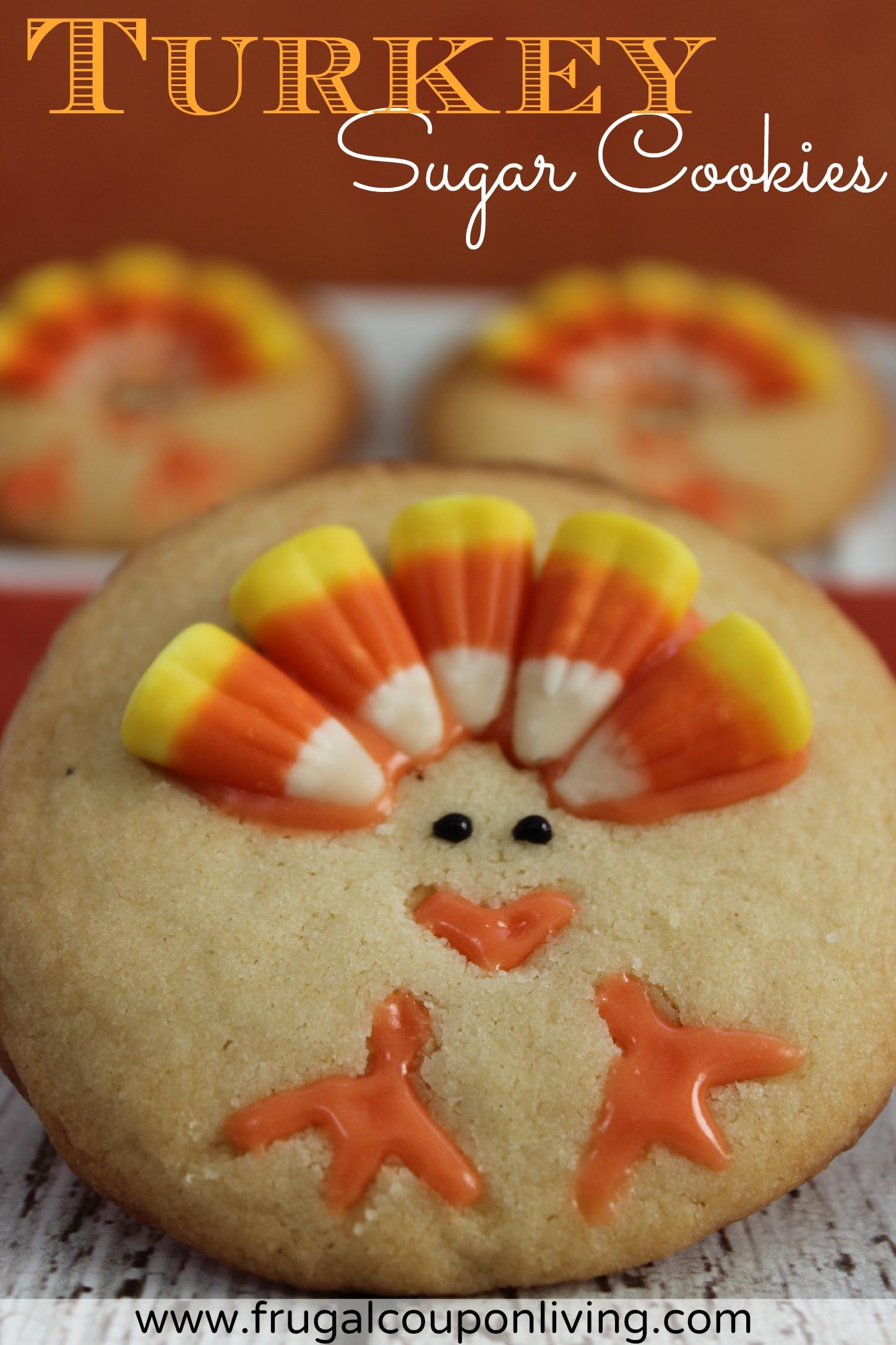 Turkey Sugar Cookies Recipe - - 521.2KB