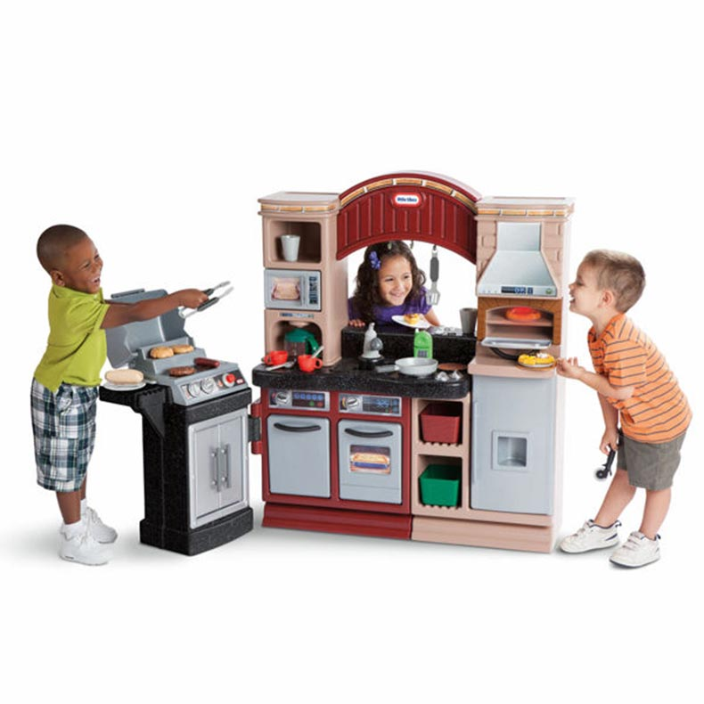 Little Tikes Play Kitchen With Grill little tikes brick oven pizza kitchen only $99.97 from $170