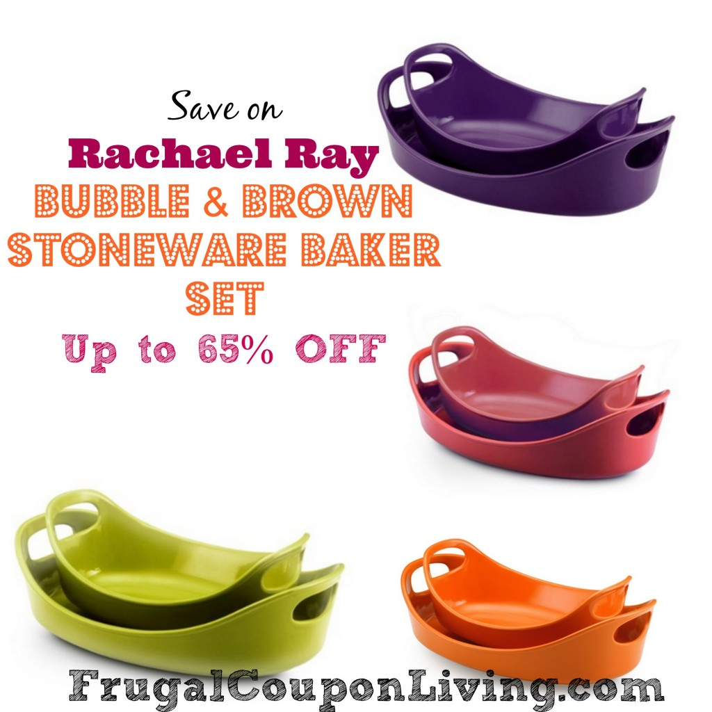 Rachael Ray Bubble and Brown Stoneware