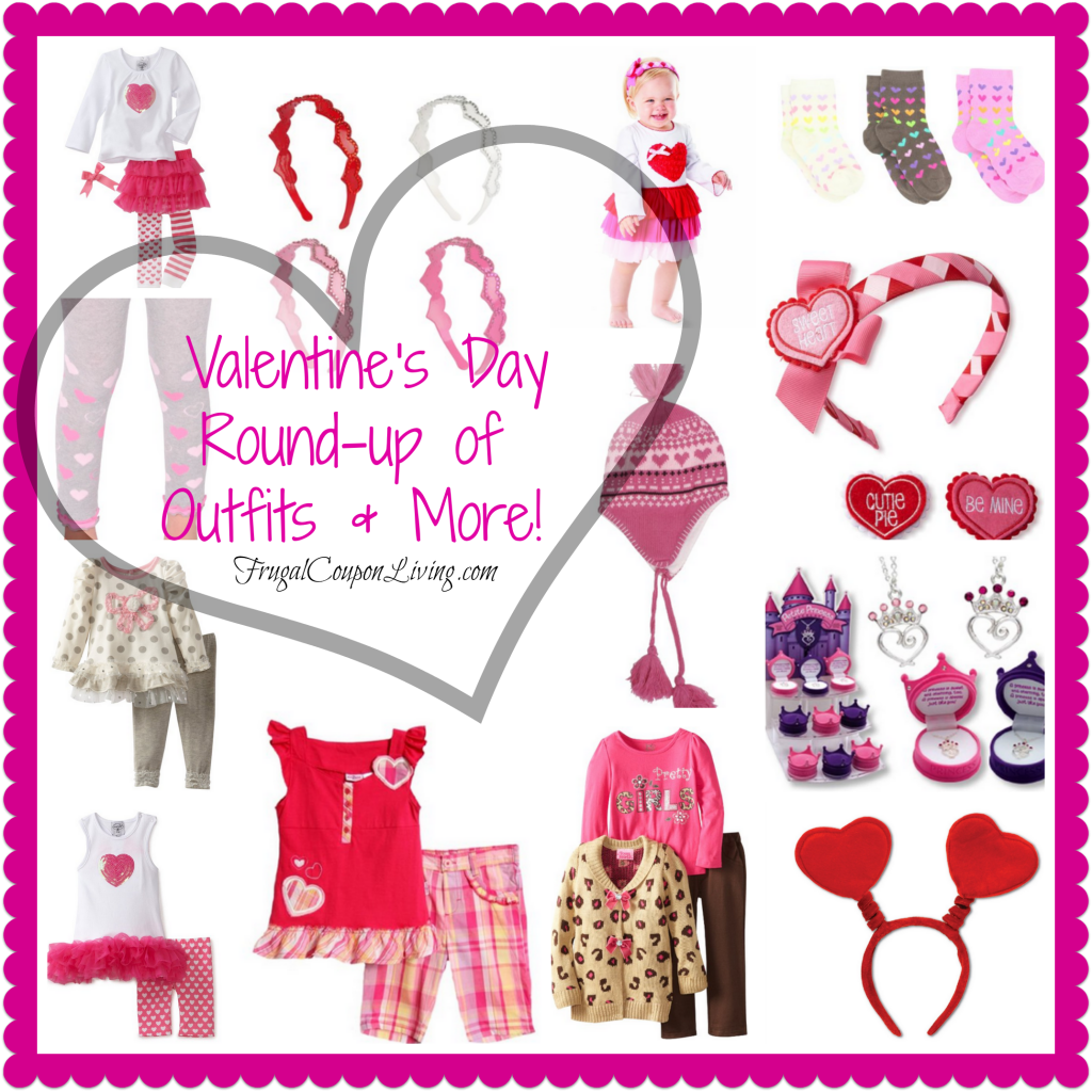 Fashion Friday Valentine S Day Girls Outfits Amp Accessories