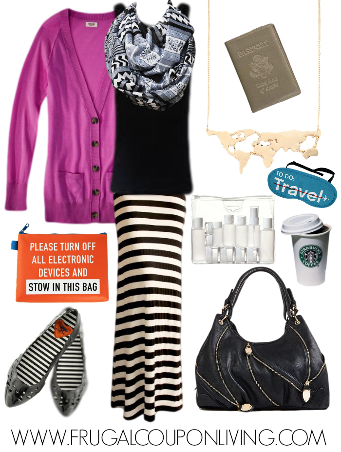 Frugal Fashion Friday Airplane Outfit How To Dress For