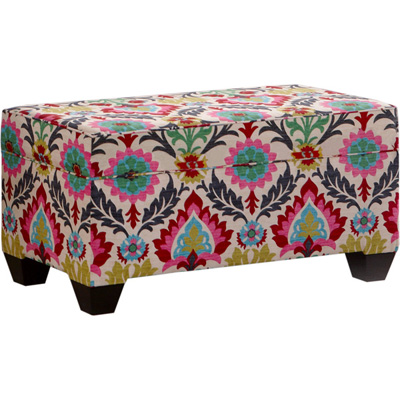 - Carson Upholstered Storage Bench Ottoman Only $69.99 From $99.99