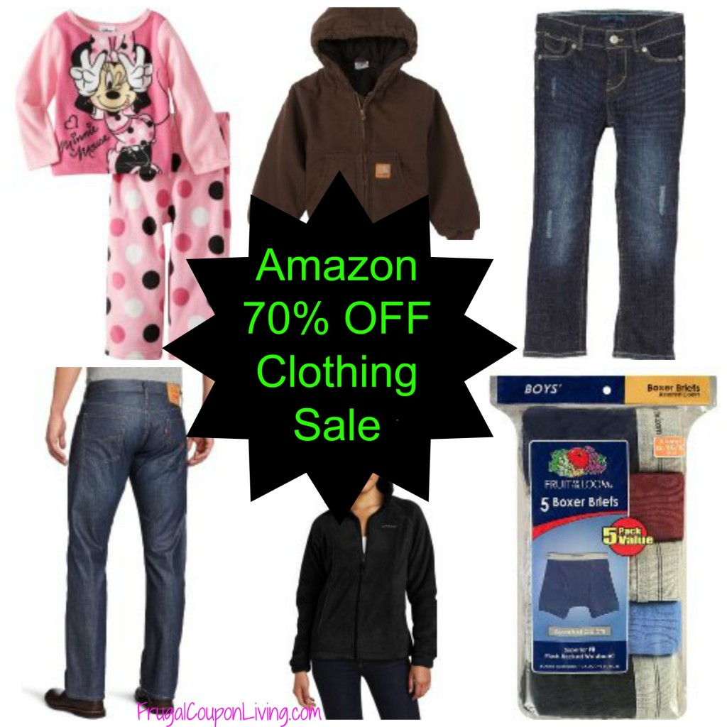 75ab9aba5 Amazon Clothing Sale - Save 70% on Men, Women, Kids and Babies