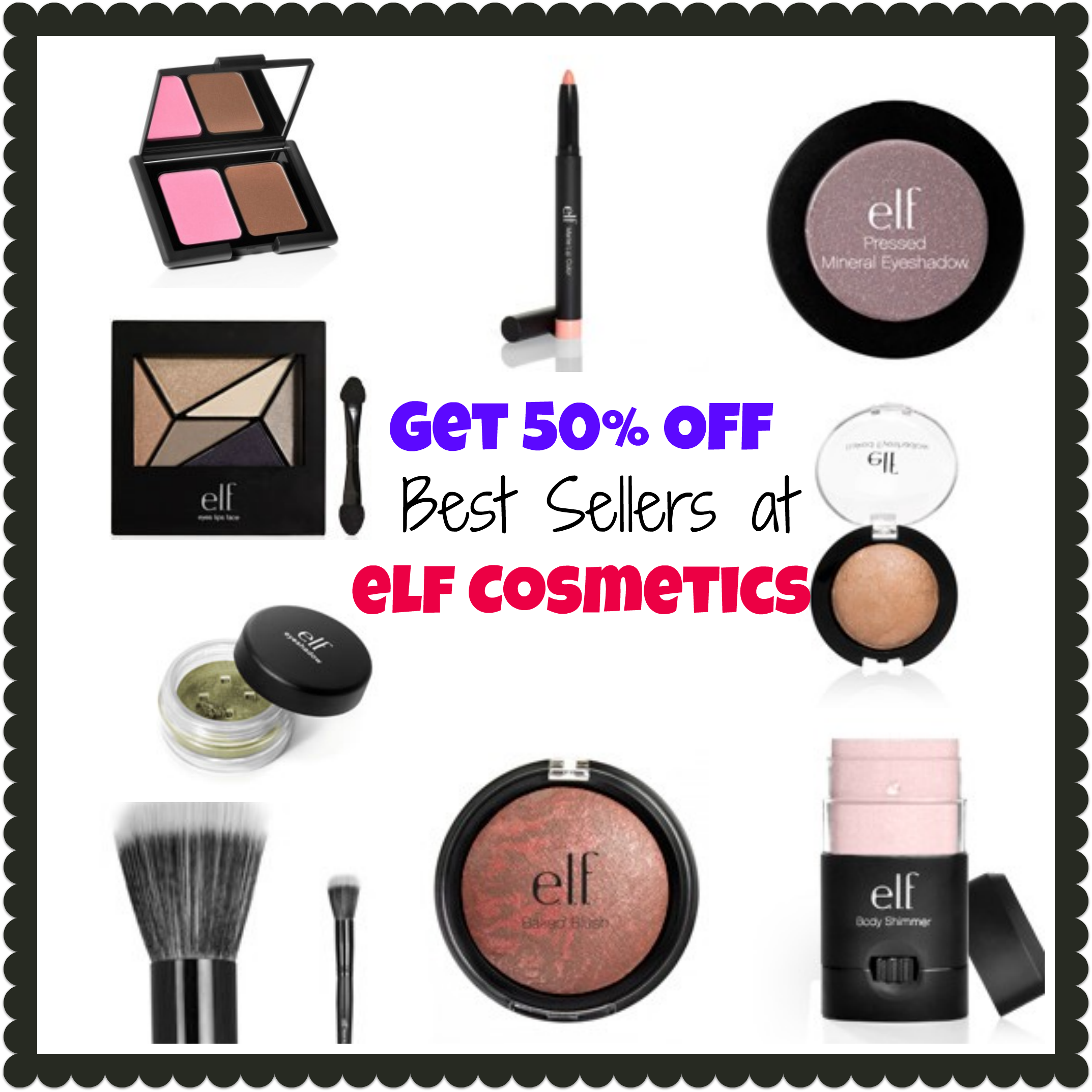 50 off elf cosmetic coupons
