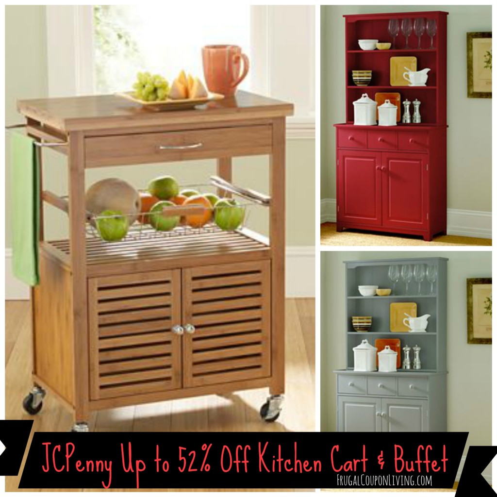 JCPenney: Save On Mandalay Bamboo Kitchen Cart & Lindale