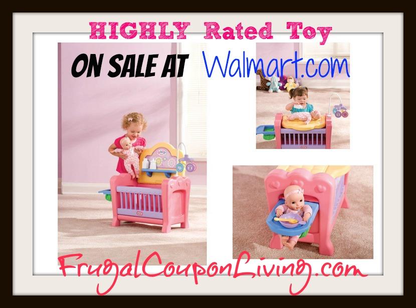 Little Tikes 4 In 1 Baby Born Nursery Play Set