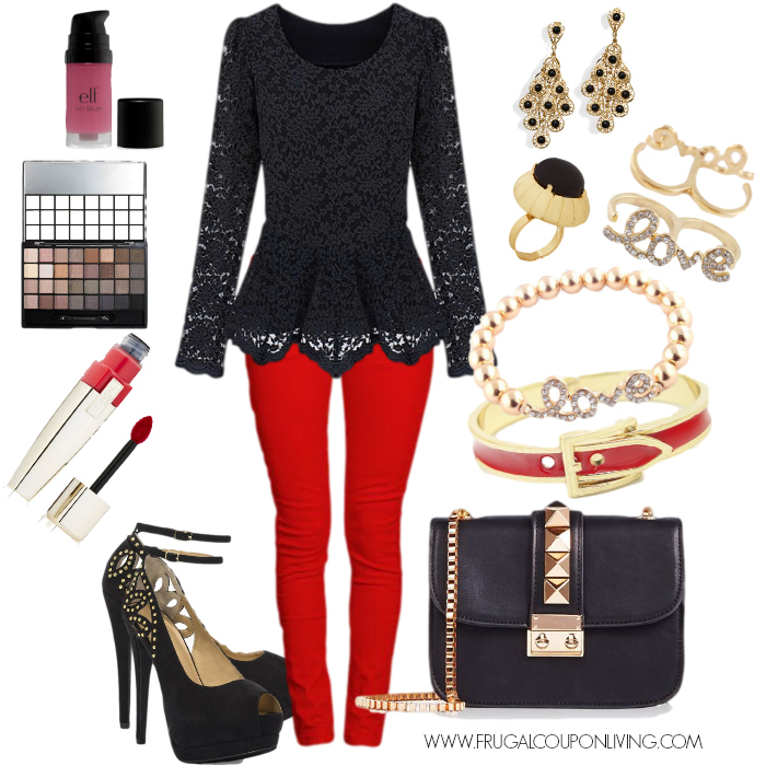 Frugal Fashion Friday Valentine Outfit And Accessories