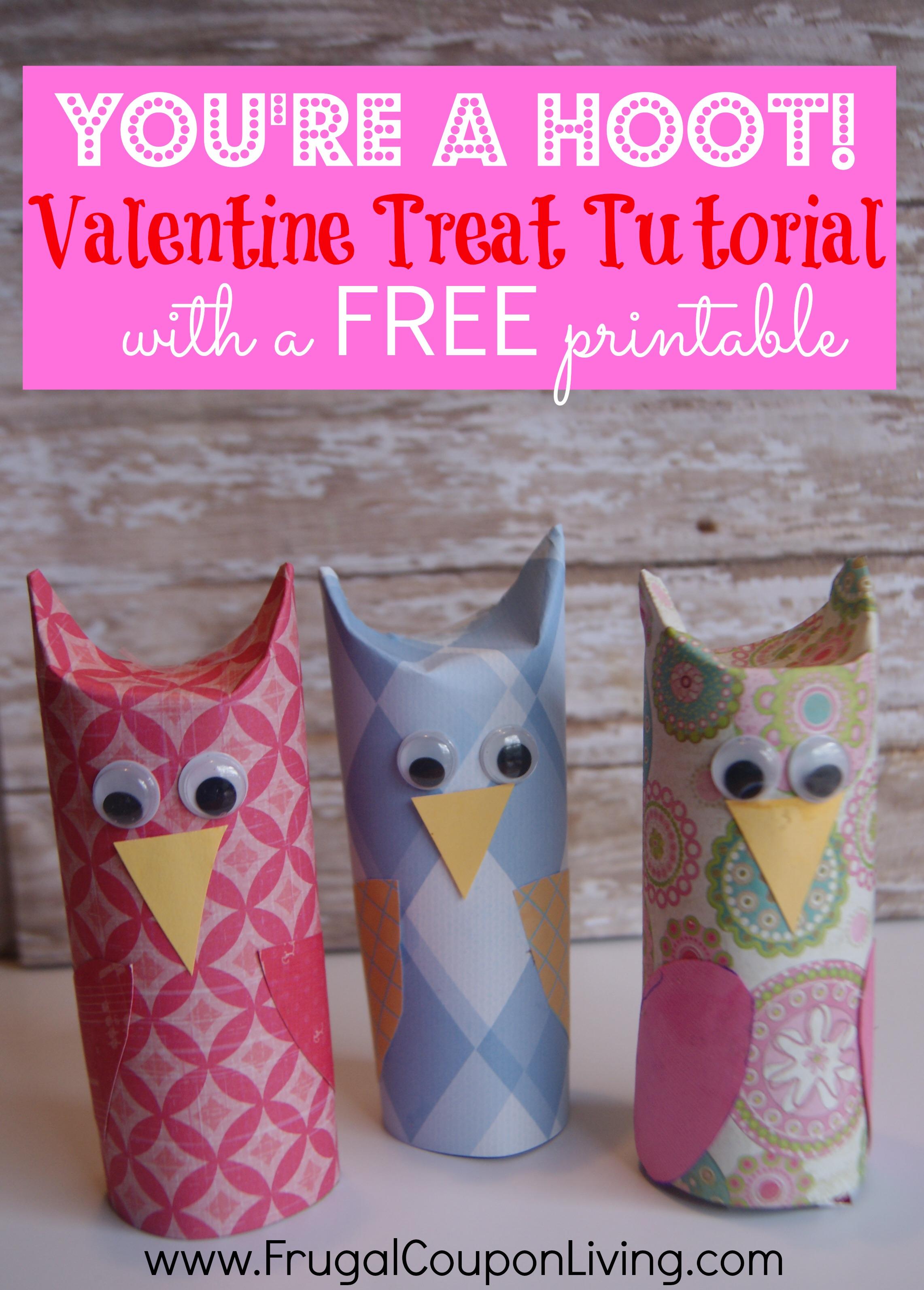 Diy Valentine Series You Re A Hoot Owl Valentine
