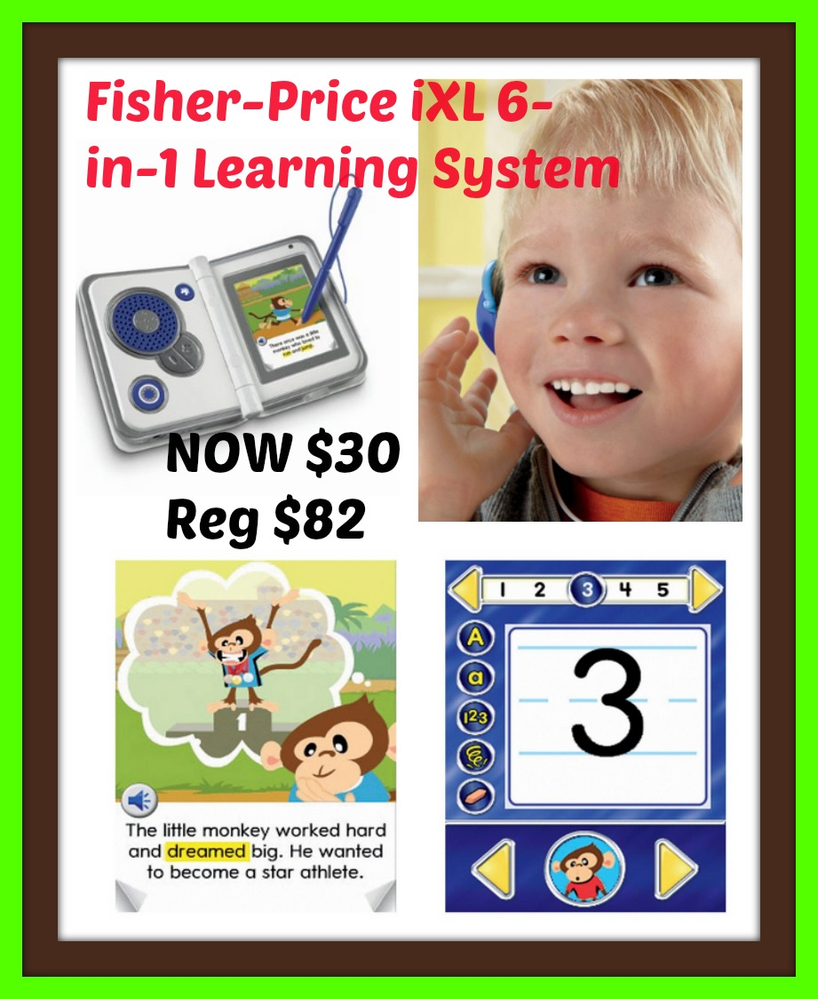 Fisher-Price iXL 6-in-1 Learning System $30 - 64% Savings!