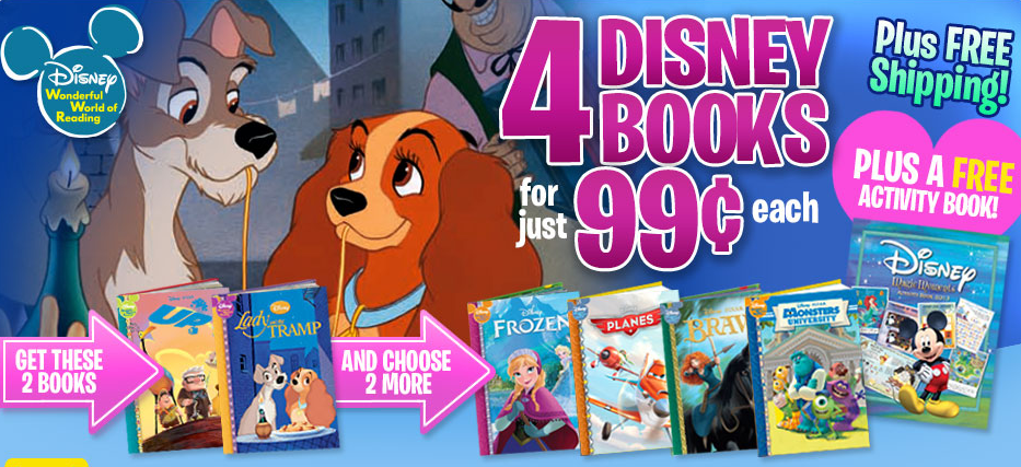 Disney Books Deal