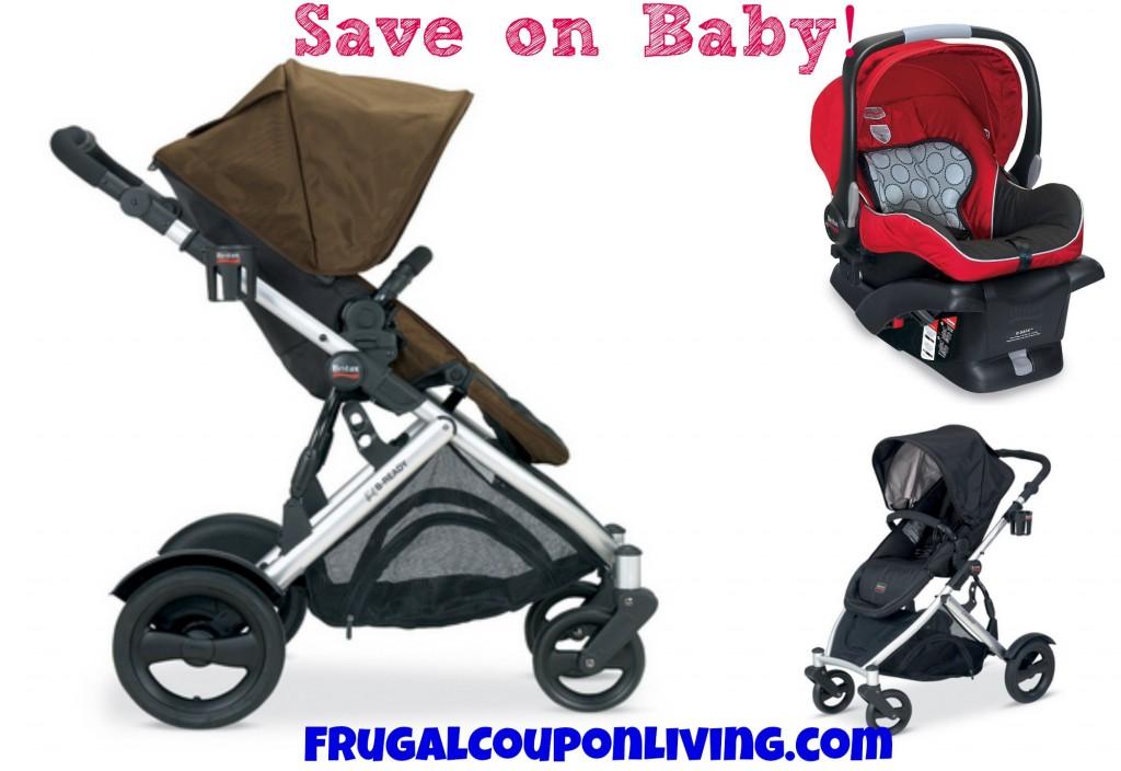 Britax Sale B-Ready Stroller & B-Safe Infant Car Seat