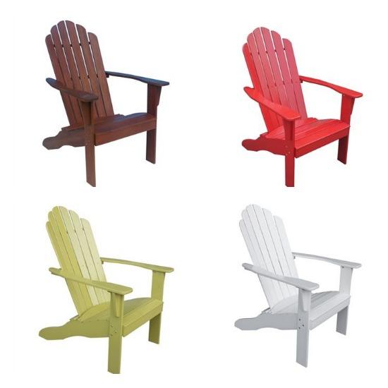 Adirondack Lounge Chair $72 $10 Kohls Cash Back