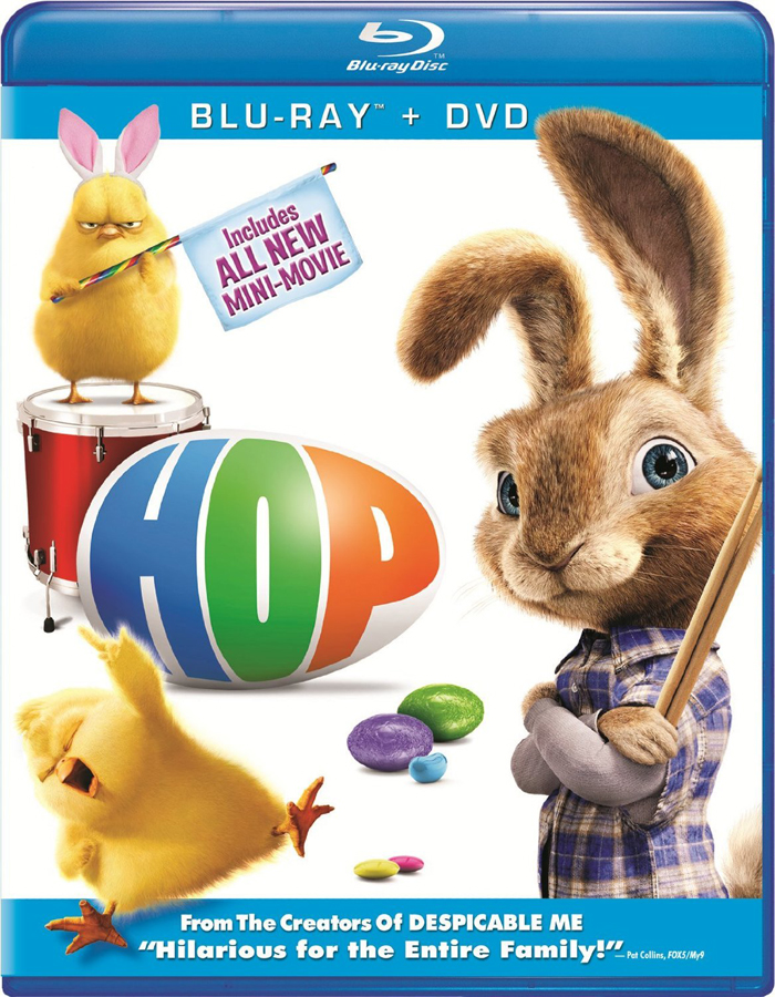 Hop Blu Ray Dvd Combo Only 12 96 Reg 29 98