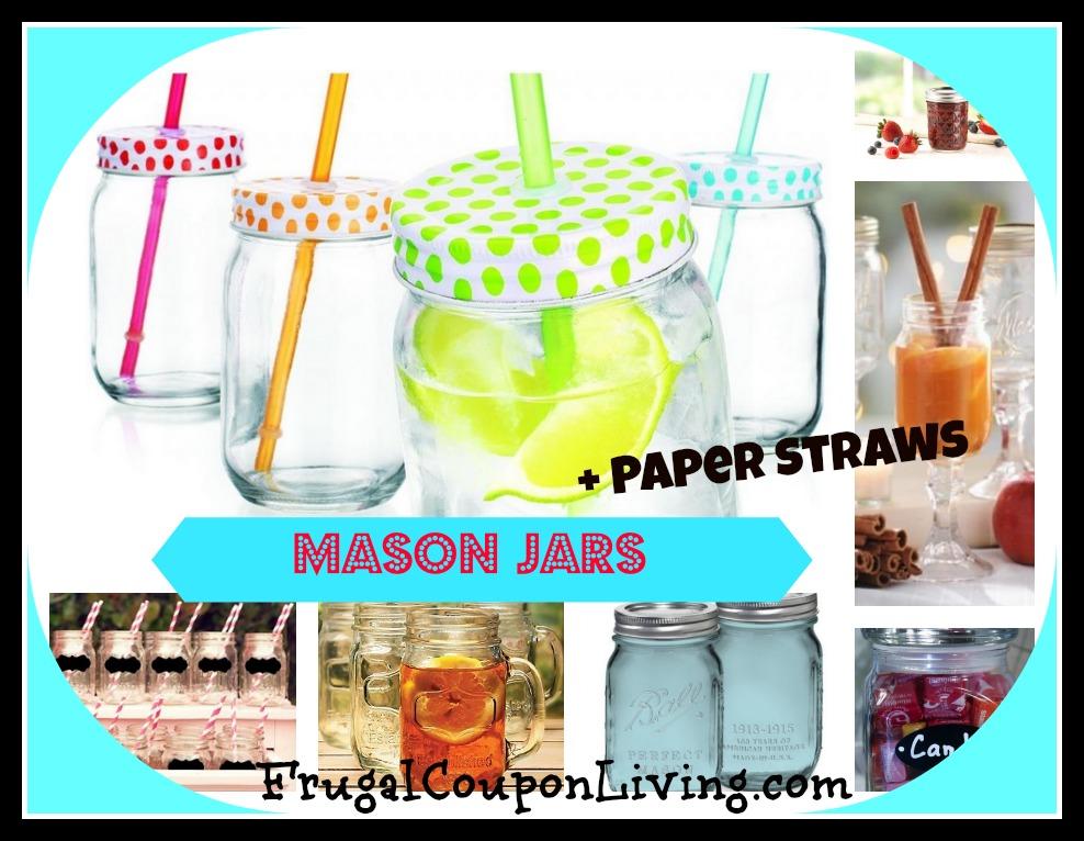 masonjar-paper-straws