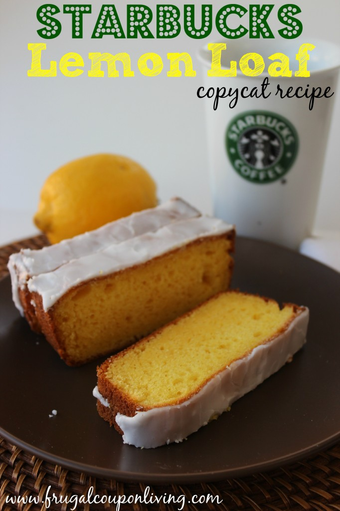 Homemade Copycat Starbucks Lemon Loaf Recipe With Glaze Icing