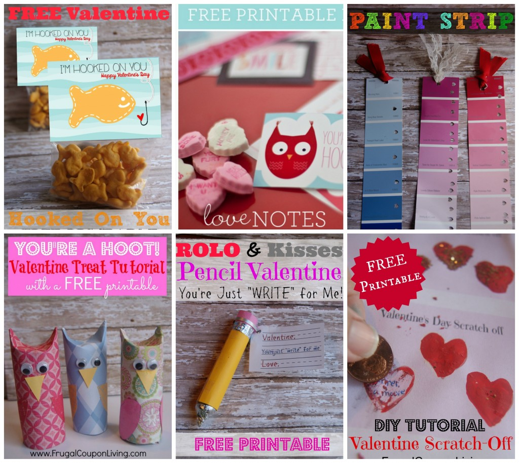 Valentines Collage Frugal Coupon Living