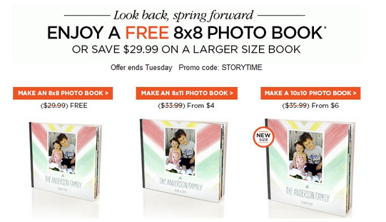 free shutterfly 8 8 photo book 29 99 value