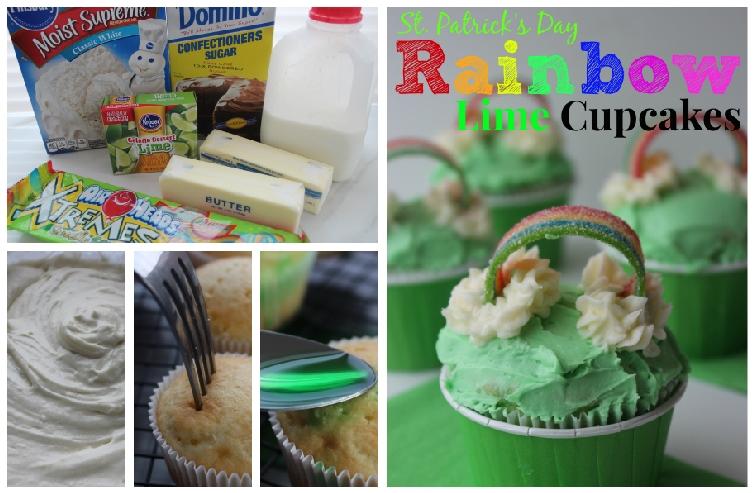 rainbow-lime-cupcakes-steps