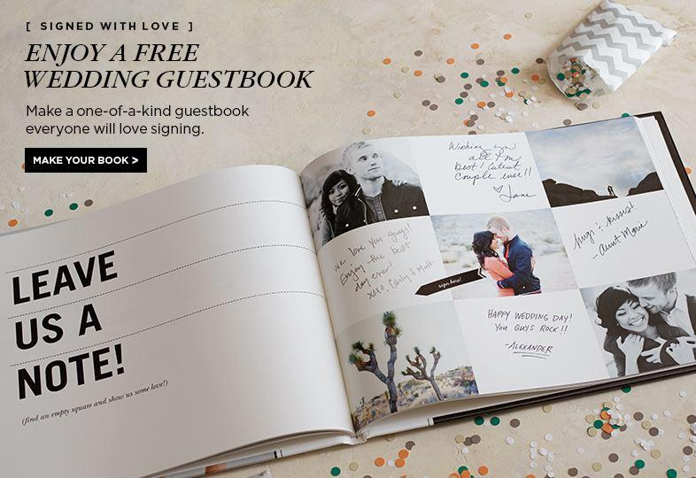 Wedding Photo Guest Books