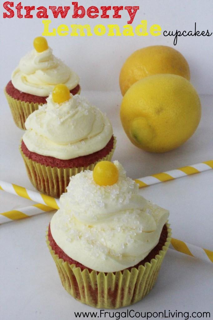strawberry-lemonade-cupcakes-recipe-frugal-coupon-living