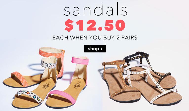 30d4c8abd7a3 Delia s Sandals Sale  12.50 Each