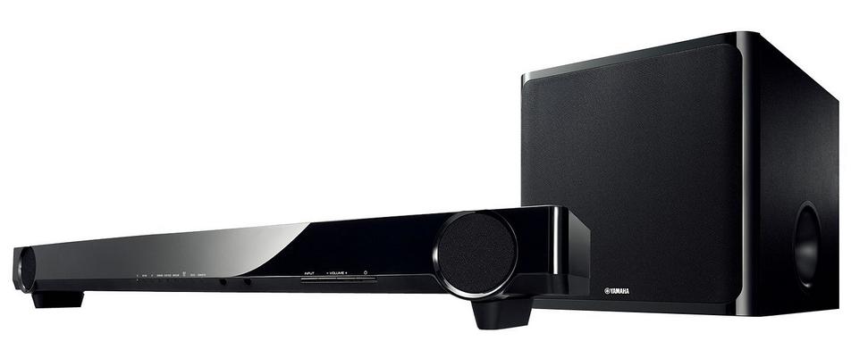 Amazon daily deal yamaha soundbar with wireless subwoofer for Yamaha soundbar with subwoofer