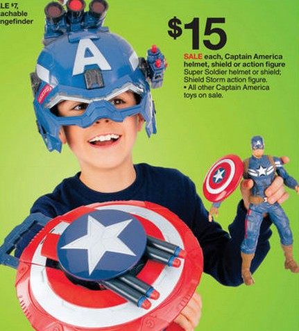 Target Captain America Toy Deals