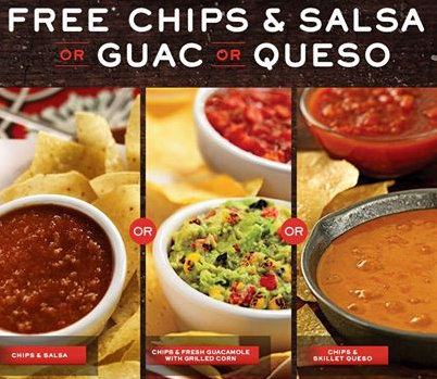 Chilis coupons free queso and chips 2018