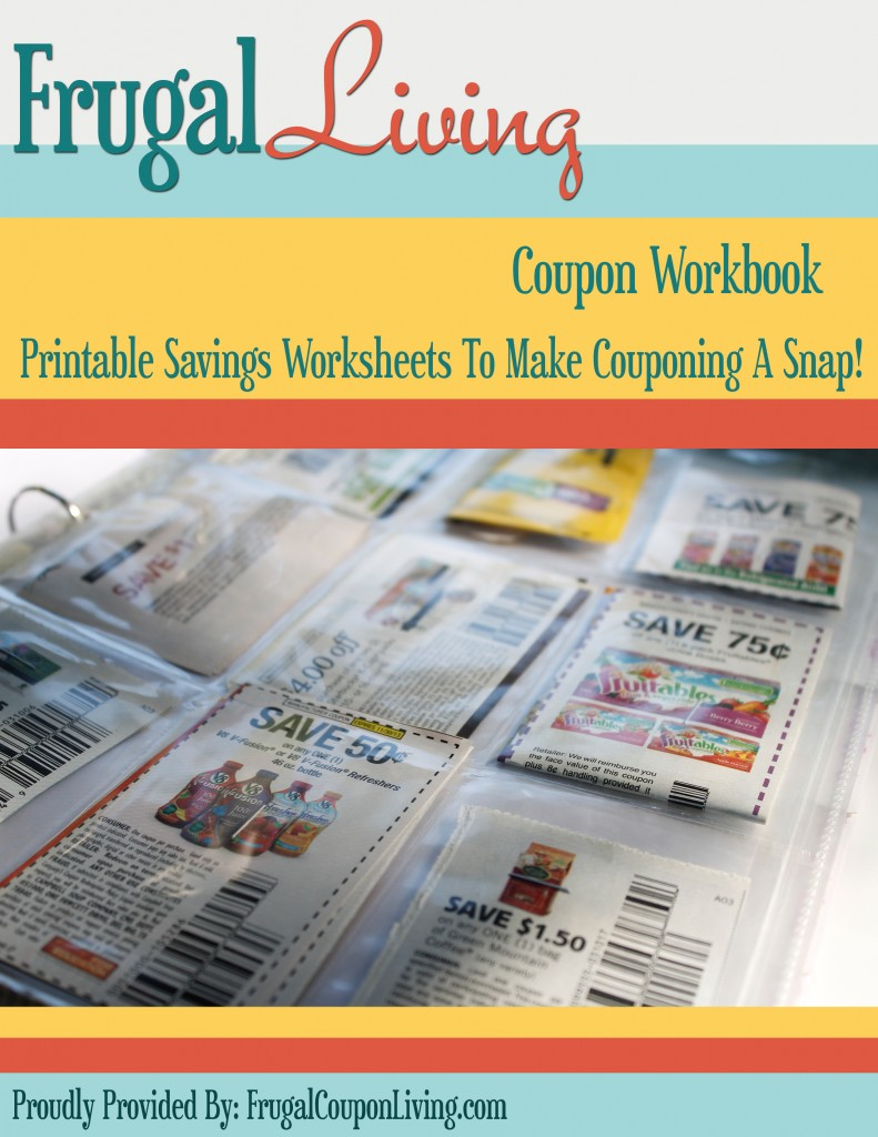 photograph regarding Coupon Binder Printable known as Free of charge Coupon Binder Printables - Serious Couponing Completed