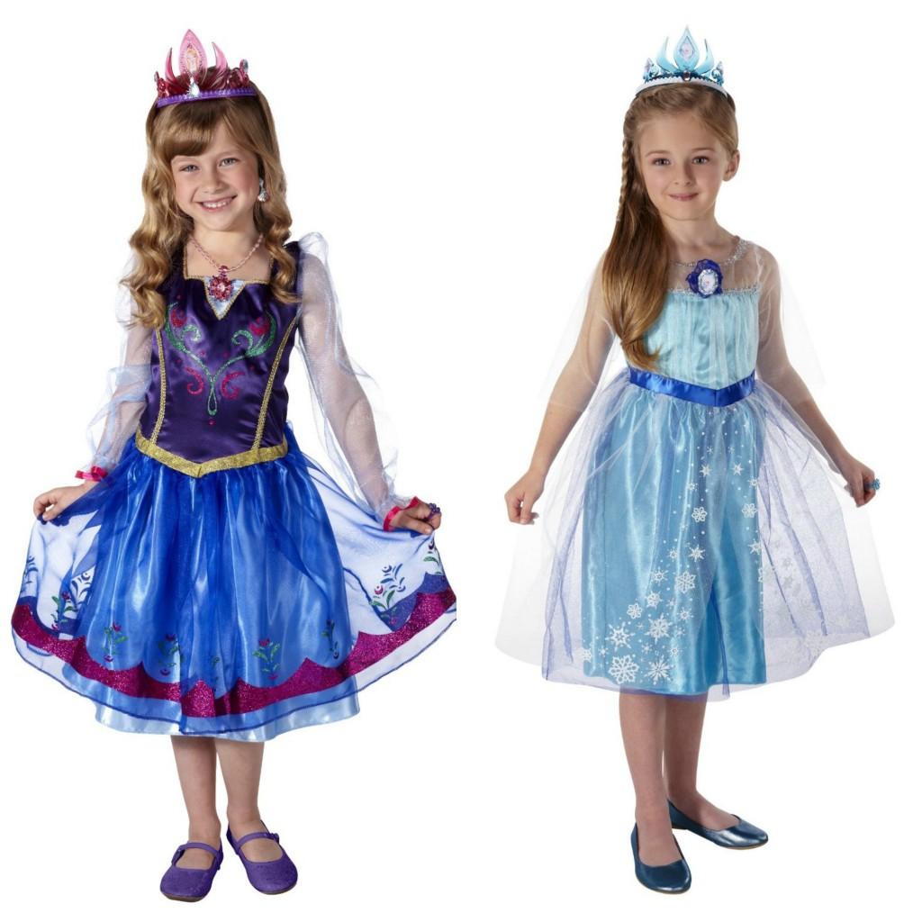 Frozen Anna and Elsa Dresses