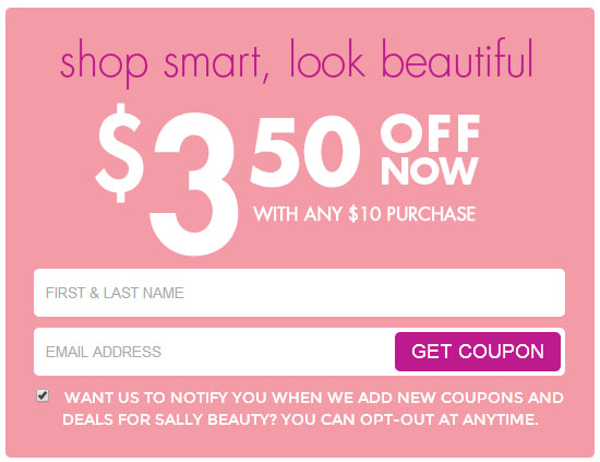 Discount beauty supply coupons