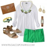 Green-Target-Shorts-Outfit-Frugal-Fashion-Friday