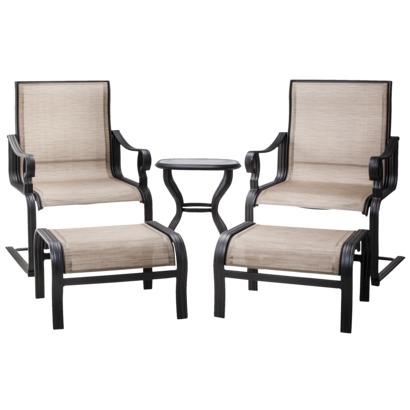 Threshold Nokomis 5-Piece Sling Patio Lounge Chat Furniture Set - 5-Piece Sling Patio Furniture Set Just $164.50! (reg. $329)