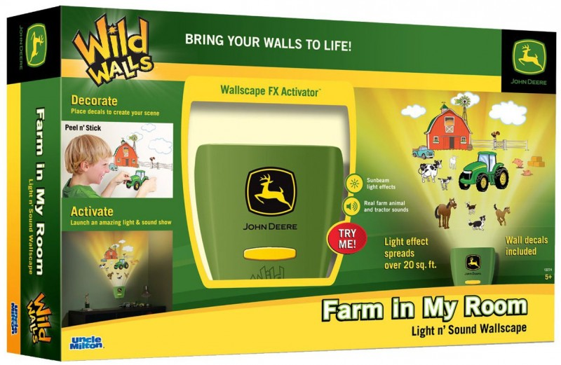 john deere wild walls room decor  sc 1 st  Frugal Coupon Living & John Deere Wild Walls Room Decor $17.27 from $34.99