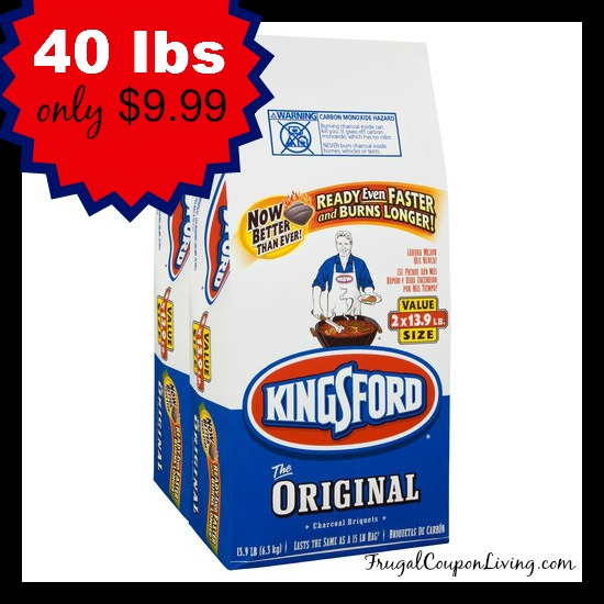 Kingsford Charcoal Sale - 40 Pounds for $9.88 at Lowes